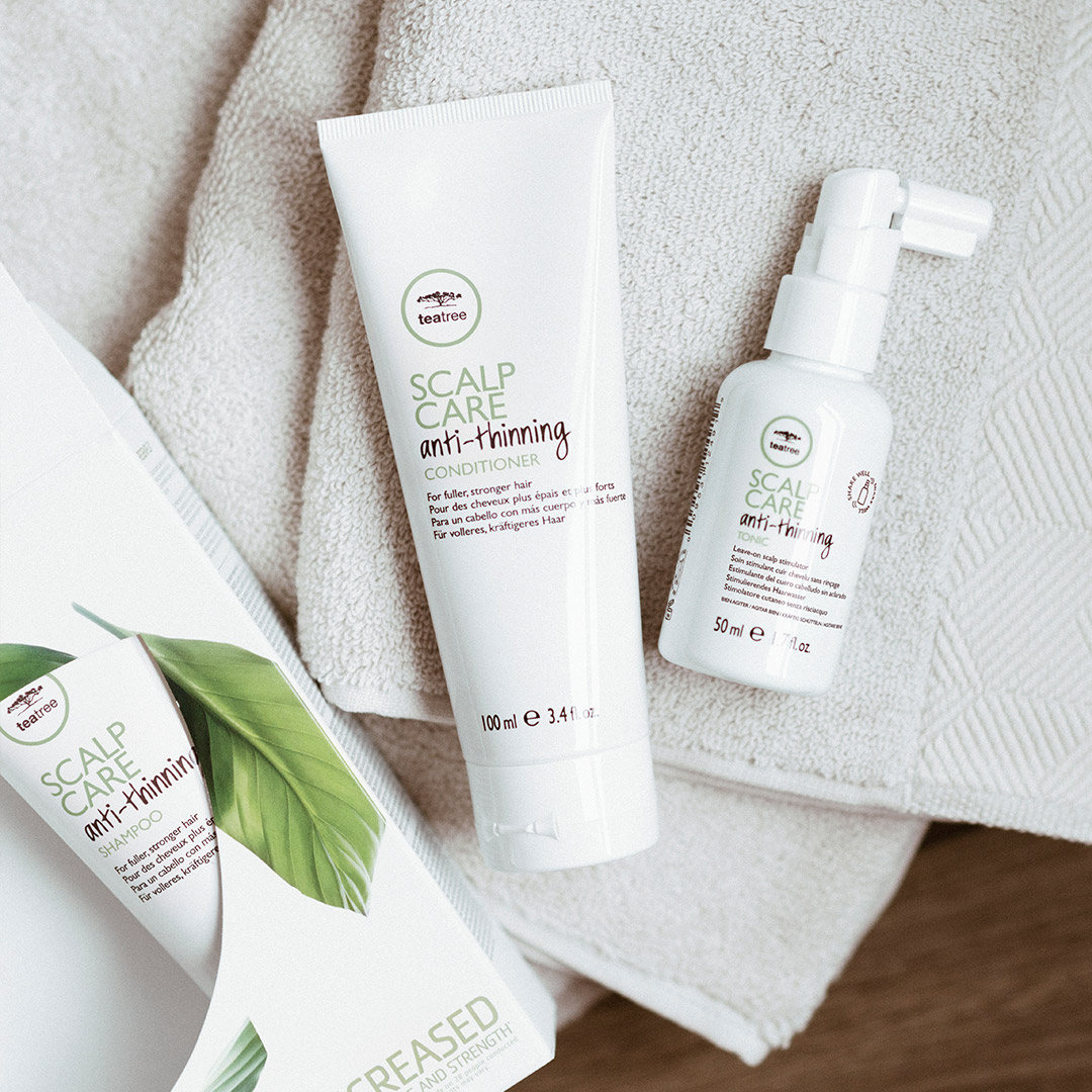 Tea Tree Scalp Care products